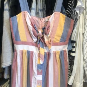 NWT Striped Madewell Dress Size 0